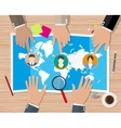 Human resources management concept vector image