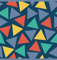 Seamless pattern triangles randomly placed