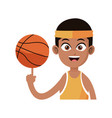 basketball player icon image vector image vector image