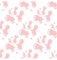 Bubble gum seamless pattern vector image vector image