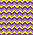 Chevron purple vector image vector image