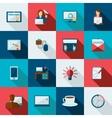 Freelance Icon Flat vector image vector image