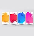 modern screen color gradients vector image