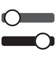 on off switch icon vector image