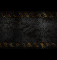 pattern metal rusty grid urban grunge vector image vector image