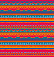 red and pink childish stripe seamless pattern vector image vector image
