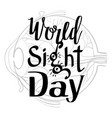 sight day concept background simple style vector image