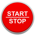 start and stop button vector image