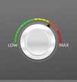 volume control button concept vector image