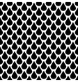 Black and white water drops seamless vector image vector image
