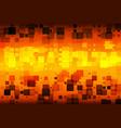 black orange red yellow glowing various tiles vector image vector image