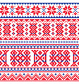 lapland sami people seamless pattern vector image vector image