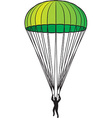 Parachute vector image vector image