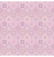 pink geometrical diagonal square mosaic tile vector image vector image