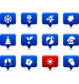 Seasons buttons vector | Price: 1 Credit (USD $1)