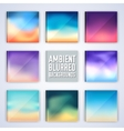 set of colorful polygontal backgrounds concept vector image vector image