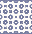 simple seamless pattern with circles and squares vector image vector image