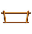 wood rack icon cartoon style vector image