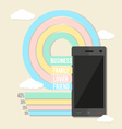 Your smart phone - vector image