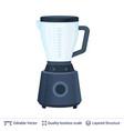 fruit juice squeezer or blender kitchen appliance vector image vector image