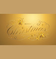 merry christmas lettering template greeting or vector image vector image