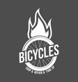 mountain bike badges vector image vector image