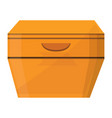 night stand icon cartoon style vector image vector image