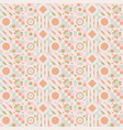 cute pattern in pastel colors vector image vector image