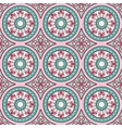 Geometric seamless ornament pattern vector image vector image