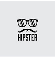 hipster retro design template vector image vector image
