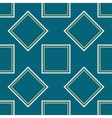 A symmetrical square pattern vector image vector image