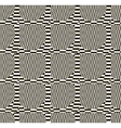 Abstract black and white checkered pattern