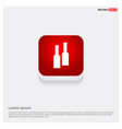 bottles of drink icon vector image