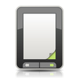 Flipping Through the Electronic Book vector image vector image