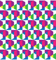 Geometric grid seamless pattern design