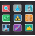 icon science vector image