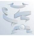 Paper Ribbons vector image