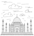Taj mahal vector | Price: 1 Credit (USD $1)