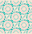 abstract colorful hipster seamless pattern vector image vector image
