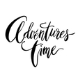 Adventures Time card vector image vector image