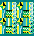 african tribal kente cloth seamless pattern vector image vector image