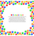colorful candy vector image