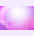 curved abstract purple background vector image vector image
