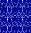 geometric patterns blue waves vector image