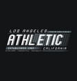 la california athletic sport vector image vector image