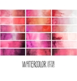 Red watercolor gradient rectangles vector image vector image
