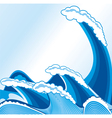 Sea wave vector image vector image