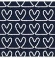Seamless nautical romantic rope pattern vector image vector image