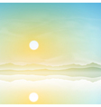 Simple Landscape vector image vector image