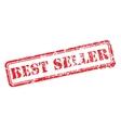 Best seller rubber stamp vector image vector image